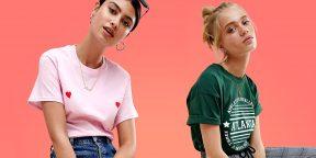35 крутых женских футболок с AliExpress и из других онлайн-магазинов