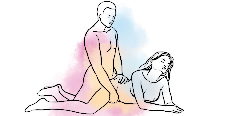 Самая хороши поза для глубоки сексе