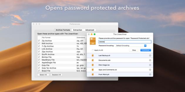 Популярный распаковщик архивов для Mac получил обновление