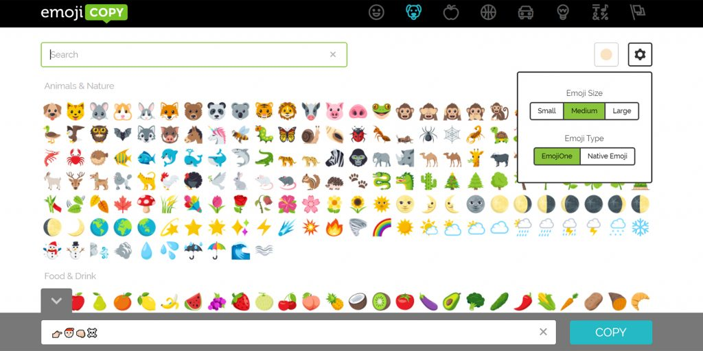 Emoji: EmojiCopy