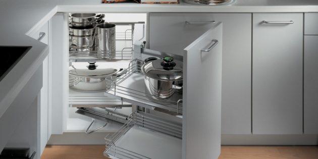 Проект кухни. Выкатной механизм