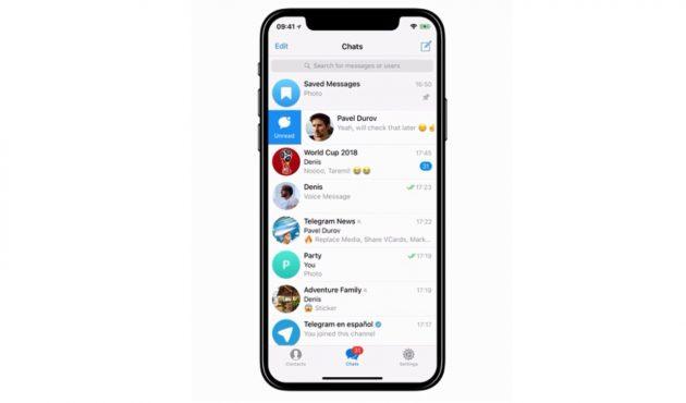 версия Telegram: Избавление от накопившихся сообщений