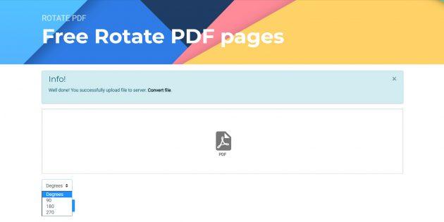 Бесплатный онлайн-конвертер: работа с PDF-файлами