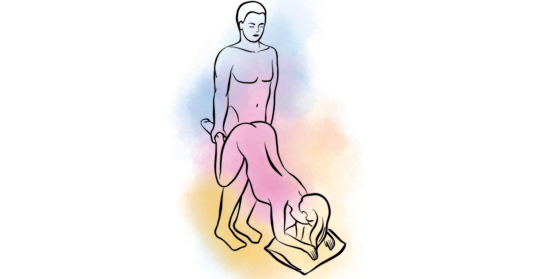 Девушка на четвереньках с висячей грудью, касуми гото порноактриса