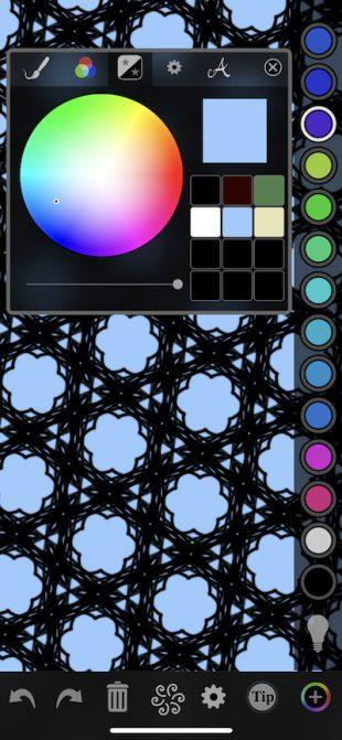 Орнаменты и узоры: Цвет фона