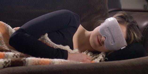 Штука дня: LUUNA — умная маска для сна, которая сочиняет усыпляющие мелодии
