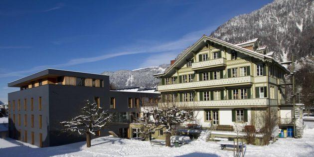 Backpacker's Villa Sonnenhof, Интерлакен, Швейцария