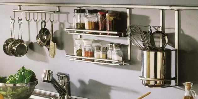 Проект кухни. Функционалный кухонный фартук