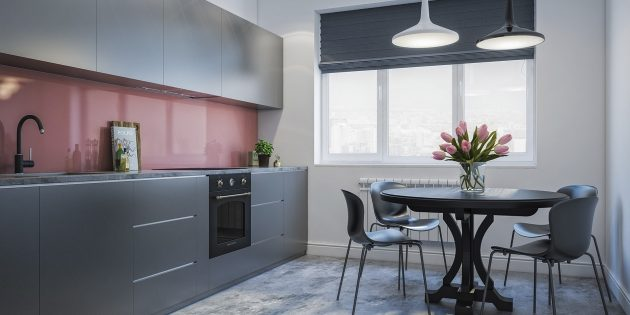 Проект кухни Flatplan «Жак Клузо»