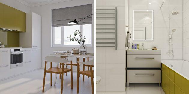 Проект кухни Flatplan «Амели Пулен»