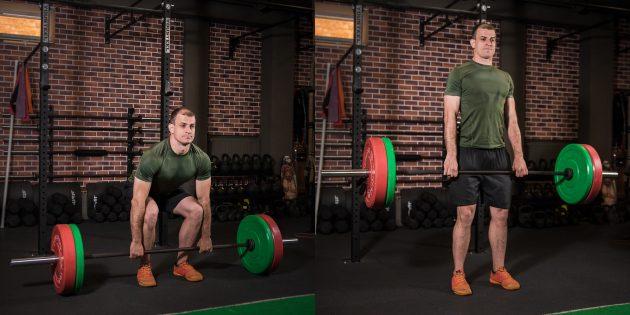 Как набрать мышечную массу: становая тяга