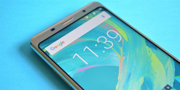 Рамки экрана Bluboo S3