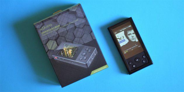 xDuoo X3 II. Коробка