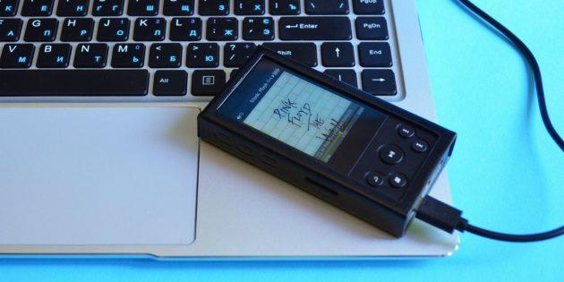 xDuoo X3 II. Соединение с компьютером
