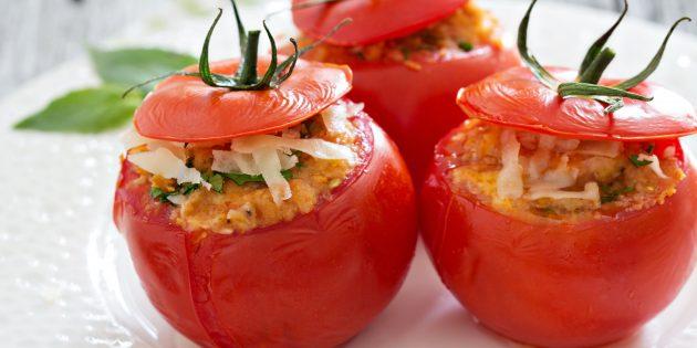 плавленый сыр: Омлет в томате