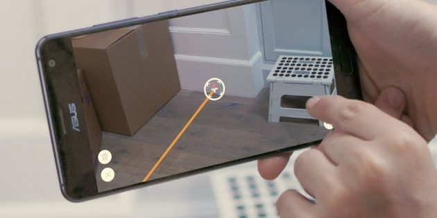 Google Measure — приложение для измерения предметов через камеру смартфона