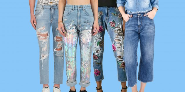 Модные женские джинсы 2018 года: 12 тенденций, о которых надо знать