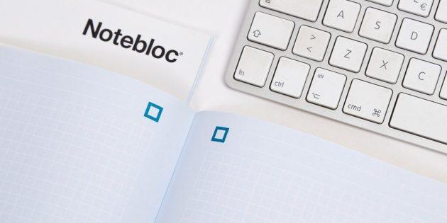 Notebloc — удобное сканирование документов через камеру смартфона