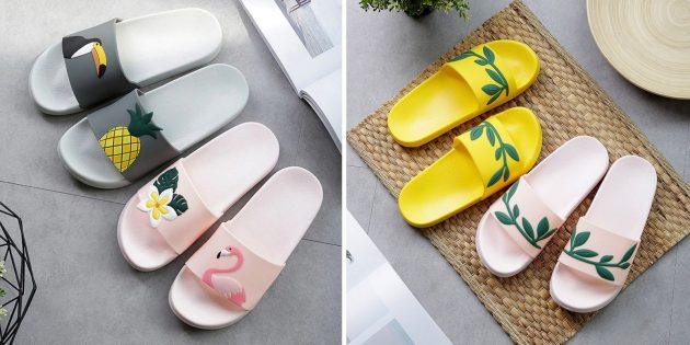Пляжные шлёпки