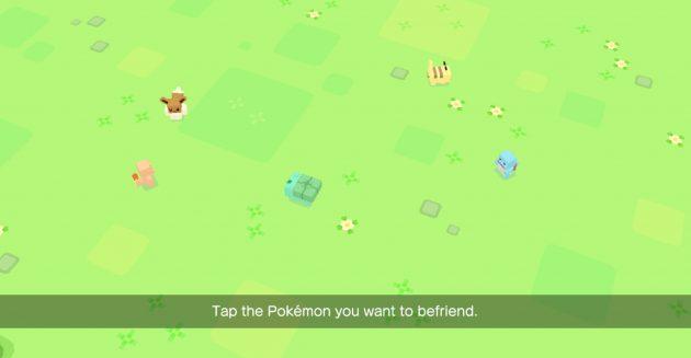 Pokemon Quest. Начало игры
