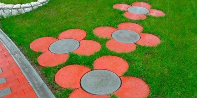 Идеи садовой дорожки