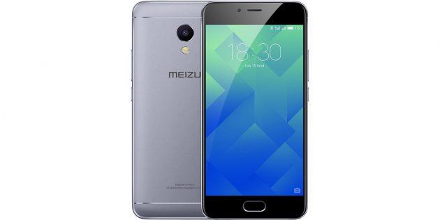 Бюджетные смартфоны: Meizu M5s