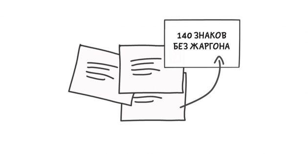 Творческое мышление. 140 знаков на выражение идеи