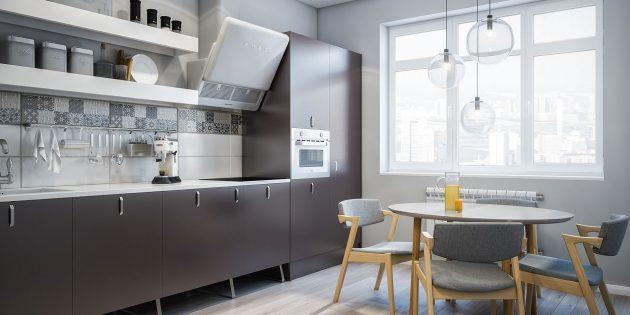 Проект кухни Flatplan «Наполеон Динамит»