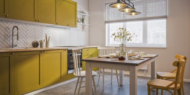 Проект кухни Flatplan «Лира Белаква»