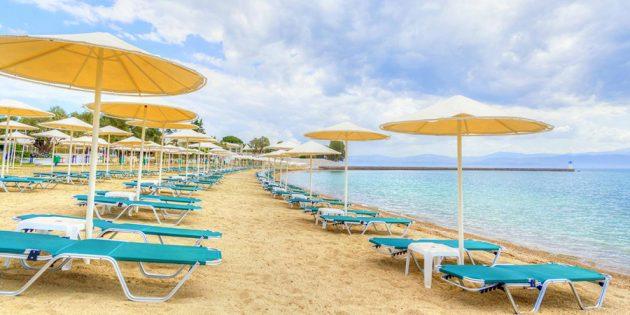 Отели для отдыха с детьми: Bomo Palmariva Beach 4*, Эвия, Греция