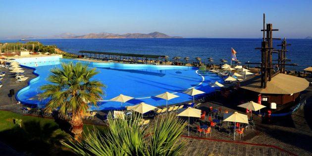 Отели для отдыха с детьми: Labranda Marine Aquapark 4*, о. Кос, Греция