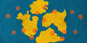 Интерактивная карта Земли покажет, где находился бы ваш город миллионы лет назад
