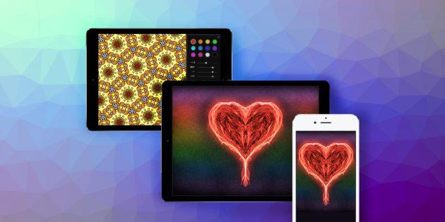 Как создавать потрясающие орнаменты на iPhone, iPad или компьютере