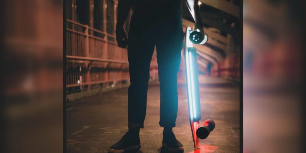 Xiaomi собирает деньги на крутой электроскейт
