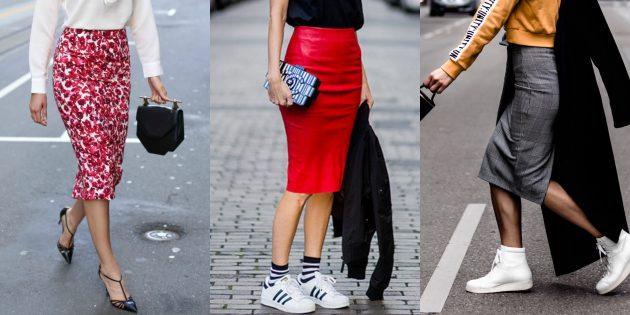 Самые модные юбки-карандаши 2018 года