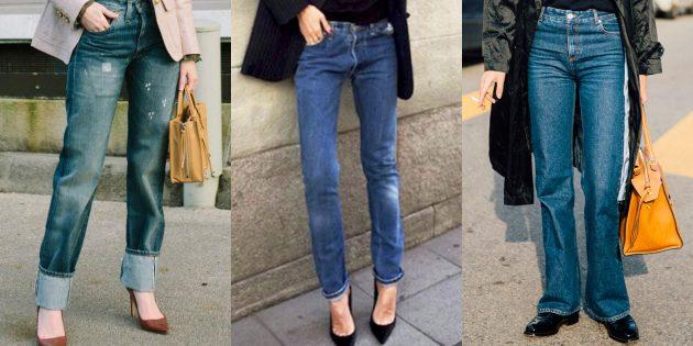 Модные женские джинсы 2018 года: Вечная классика