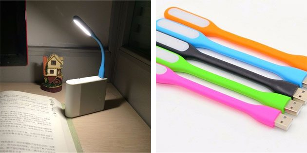 USB-лампа на гибкой ножке