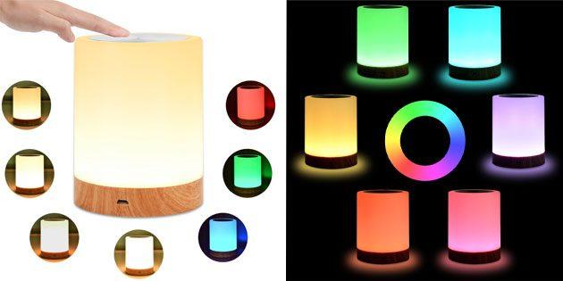 лампа с четырьмя режимами