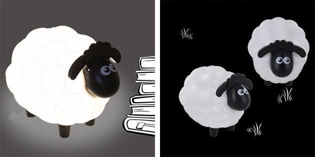 светильник-овечка