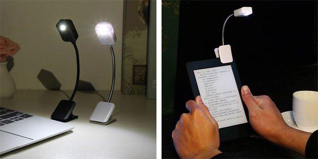 Лампа для чтения электронных книг