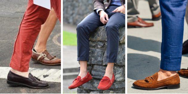 Модная мужская обувь 2018 года: Лоферы