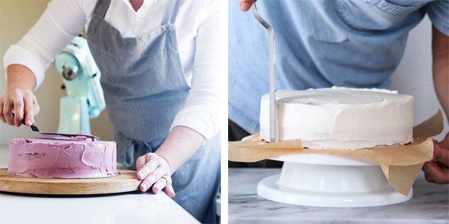 лопатка для выравнивания крема