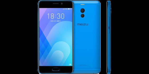 Бюджетные смартфоны: Meizu M6 Note