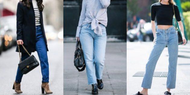Модные женские джинсы 2018 года: «Мамины» джинсы