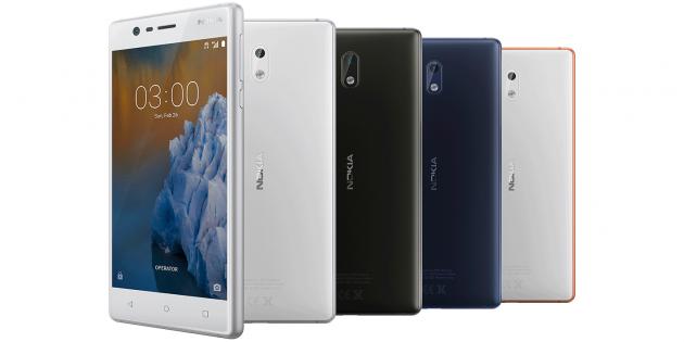 Бюджетные смартфоны: Nokia 3