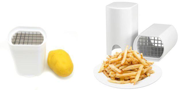 керамические ножи. Резак картофеля фри