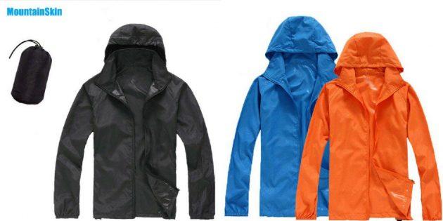 Куртки-дождевики