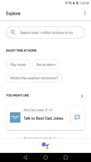 Не работает Google Assistant