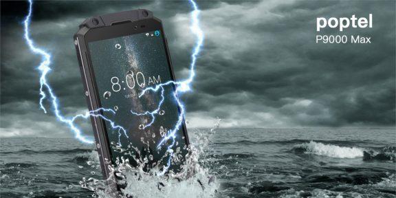 Poptel P9000 Max — защищённый смартфон с батареей на 9000 мА·ч всего за 200 долларов