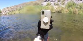 Видео дня: iPhone X остался рабочим после двух недель на дне реки